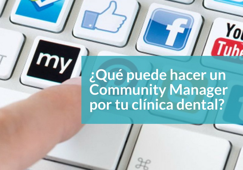 Community manager en clínica dental