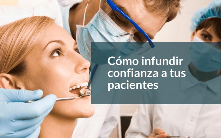 confianza a tus pacientes