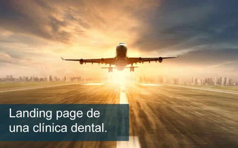 landing page clínica dental